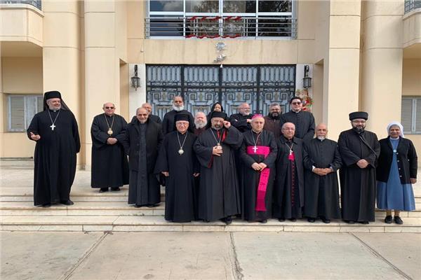 مجلس البطاركة والأساقفة الكاثوليك يهنئ المطران بولس عبد الساتر