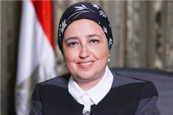 لبني هلال نائب رئيس البنك المركزي المصري
