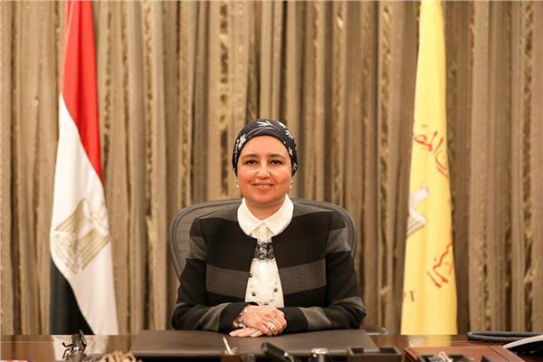 لبني هلال نائب محافظ البنك المركزي المصري