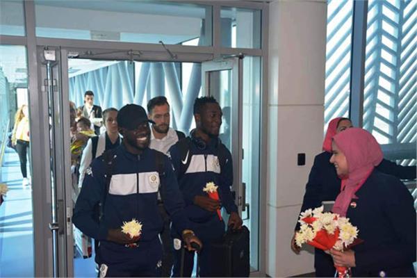 مطار القاهرة يستقبل منتخبي بوروندى وناميبيا للمشاركة فى أمم أفريقيا