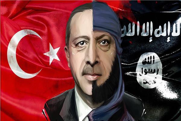 الديكتاتور التركي رجب طيب أردوغان