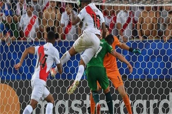 مباراة بيرو و بوليفيا  في كوبا أمريكا