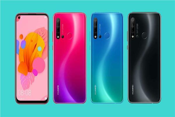 سلسلة هواتف Huawei Nova 5 Series