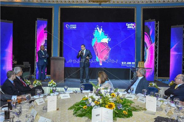 محافظ الإسكندرية يفتتح المؤتمر السنوي للقلب والشرايين