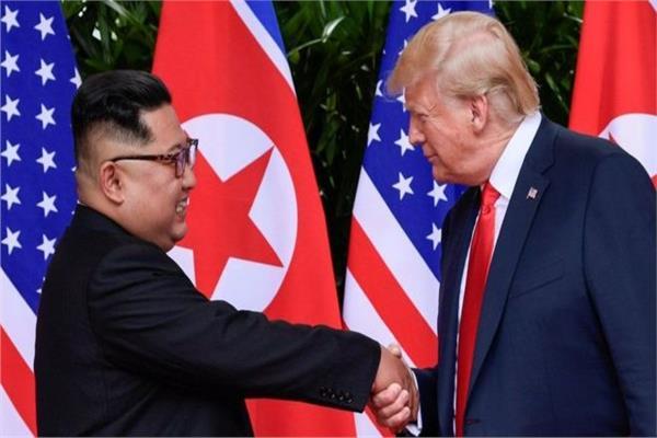 كيم جونج اون ودونالد ترامب