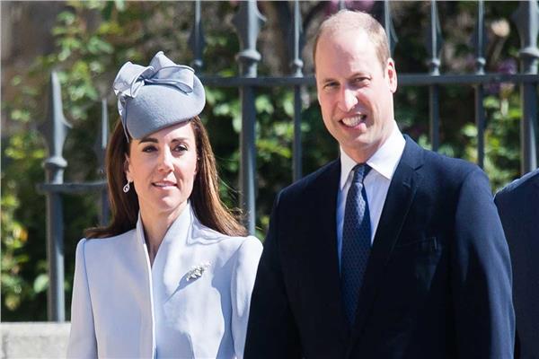 الأمير ويليام وزوجته كيت