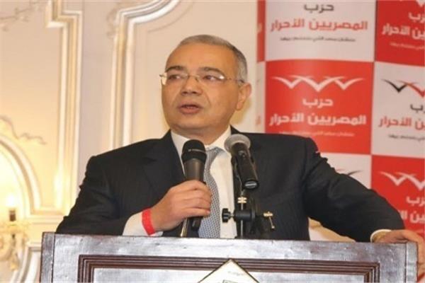 الدكتور عصام خليل رئيس حزب المصريين الأحرار