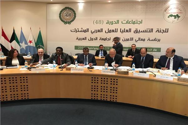 أبو الغيط يطالب بالتنسيق بين مؤسسات العمل العربي المشترك