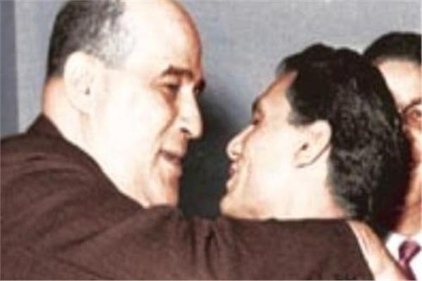 مصطفى امين وعبد الحليم حافظ