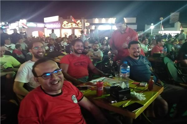 رواد الساحل الشمالي يتابعون افتتاح أمم إفريقيا 2019