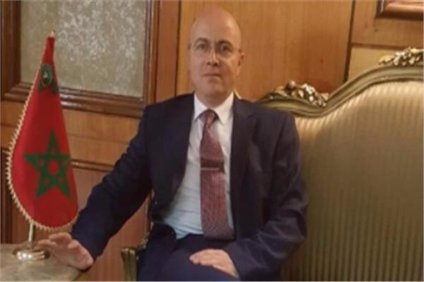 سفير المغرب بالقاهرة أحمد التازي