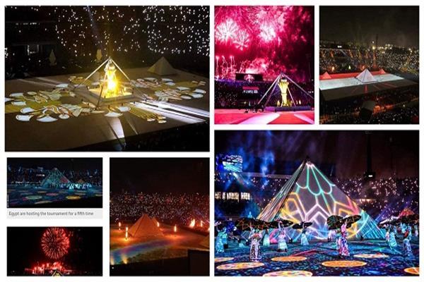 افتتاح  كأس الأمم الأفريقية في استاد القاهرة