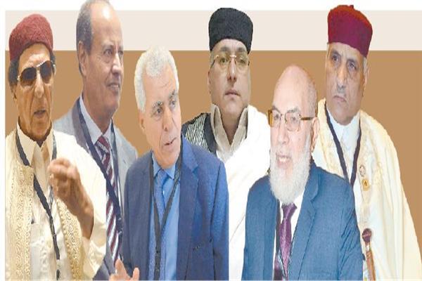 رموز القوى الوطنية الليبية