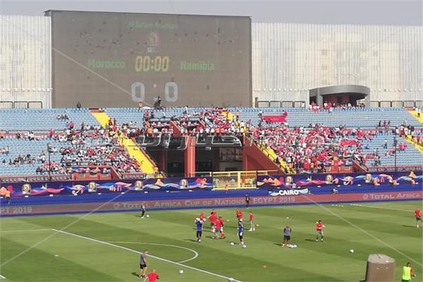 صورة من ملعب المباراة