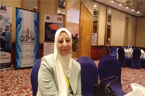 د. نوال عبد المنعم عضو مجلس إدارة الجمعية المصرية للتمويل الإسلامي