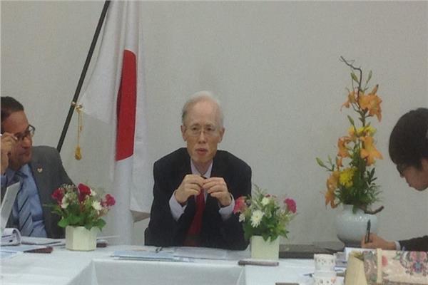 سفير اليابان :نتطلع لمشاركة الرئيس السيسي في قمتي العشرين والتيكاد