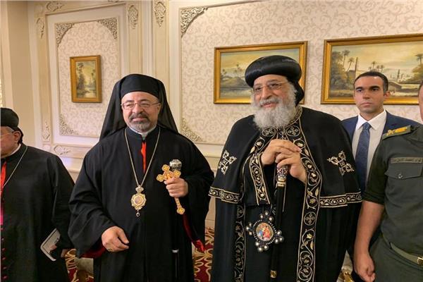 البابا تواضروس يشارك فى حفل عيد دخول العائلة المقدسة مصر