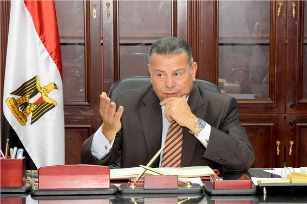 المستشار هاني عبد الجابر محافظ بني سويف