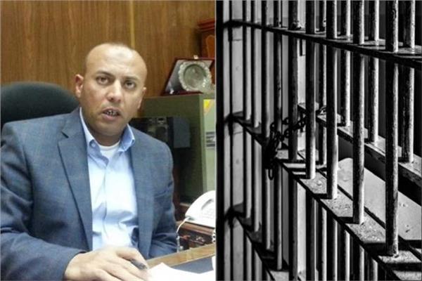 المتهم هشام عبد الباسط محافظ المنوفية
