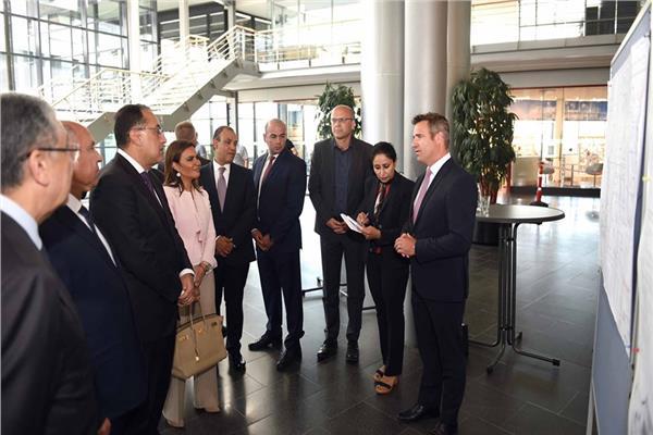 جانب من زيارة رئيس الوزراء د.مصطفى مدبولي لألمانيا