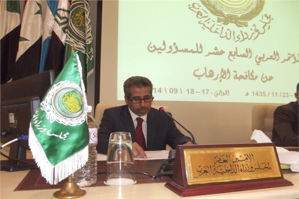 """الأمين العام لـ""""وزراء الداخلية العرب"""""""