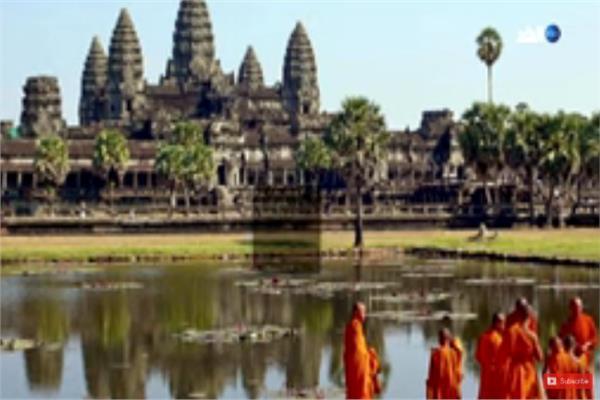 """مجمع معابد """"أنجكور وات"""""""