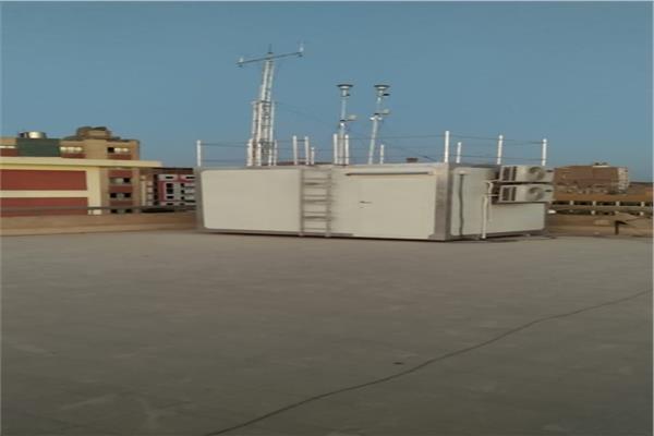 البيئة: تركيب محطتين لرصد ملوثات الهواء بسوهاج