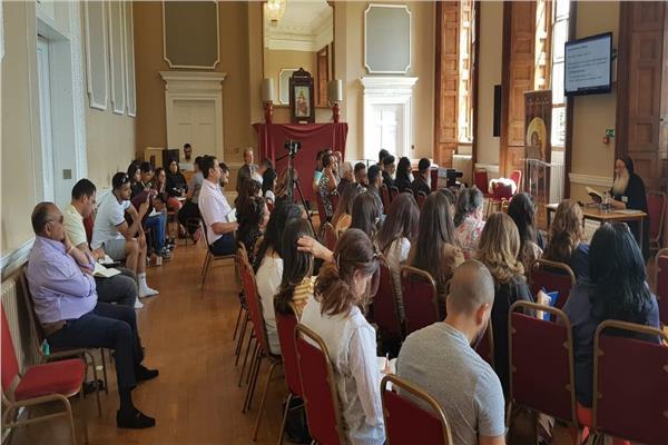 مؤتمر خدام التربية الكنسية والشباب  ببرايتون إنجلترا