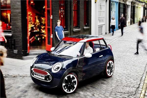 سيارة ميني كوبر الكهربائية الجديدة طراز  «روكيت مان»