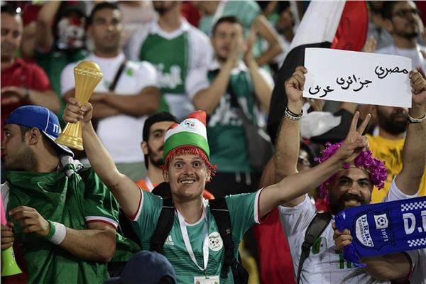 جماهير الجزائر في مصر