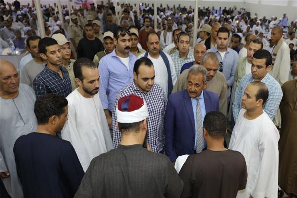 الصلح خير بين أبناء عمومة عائلة أبوزيد أبو عقرب بالبلينا