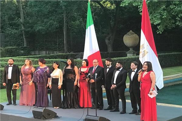 الثقافة تحتفل بثورة 23 يوليو فى ايطاليا