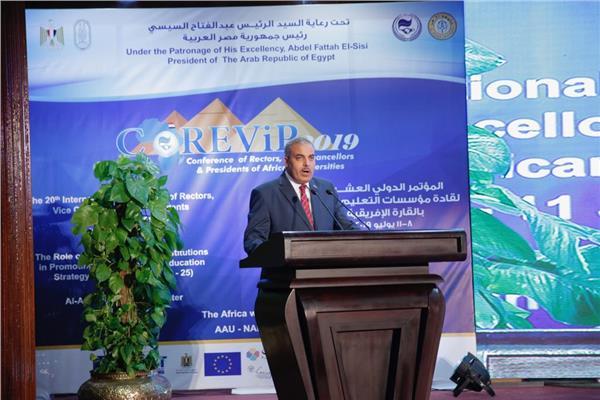 محمد المحرصاوي رئيس جامعة الأزهر
