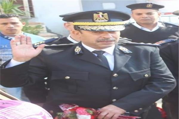 العميد سامح فؤاد مدير إدارة التفتيش بمديرية أمن السويس