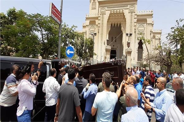 تشيع جثمان يوسف شريف رزق الله
