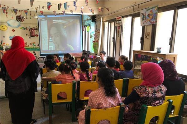 عروض سينما للطفل بثقافة المنيا