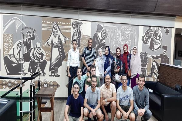 جامعة داغستان الروسية تستضيف وفد طلابي من سيوط