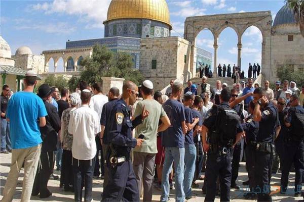 اقتحام المسجد الأقصى المبارك