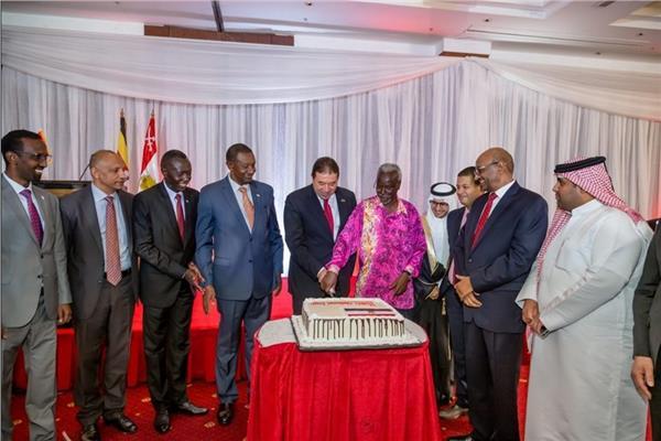 السفارة المصرية في أوغندا تحيي ذكرى ثورة يوليو