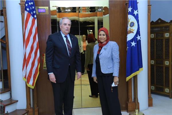توماس جولدبرجر القائم بأعمال السفارة الأمريكية بالقاهرة