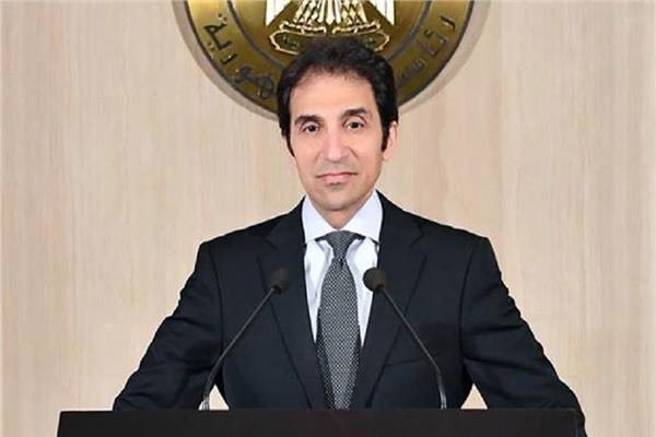 السفير بسام راضي المتحدث باسم رئاسة الجمهورية