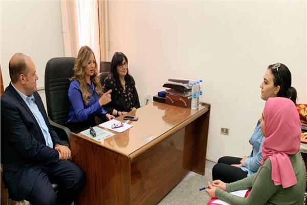 رانيا بدوي ضمن لجنة اختيار وتقييم طلبة كلية الاعلام بجامعة القاهرة