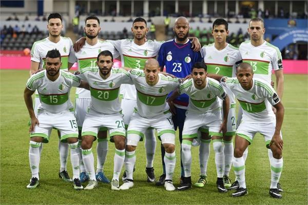 منتخبا الجزائر