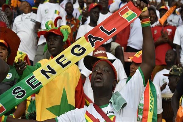 صورة أرشيفية -الجماهير السنغالية