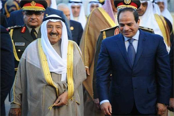 الرئيس السيسي وأمير الكويت