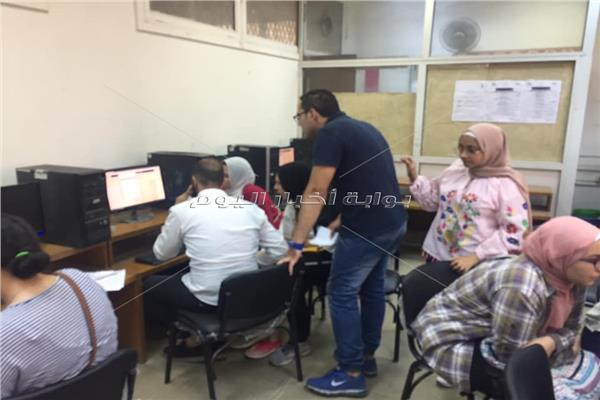 معامل التنسيق الإلكتروني بجامعة عين شمس