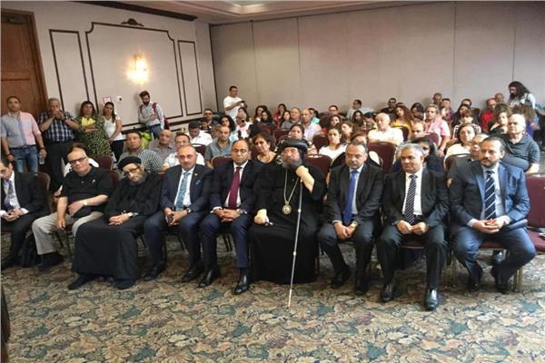 وزيرة الهجرة تلتقي الجالية المصرية