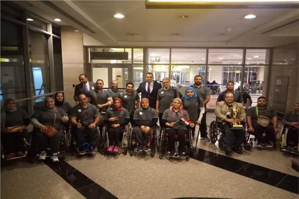 منتخب مصر البارالمبي المشارك ببطولة العالم لرفع الاثقال
