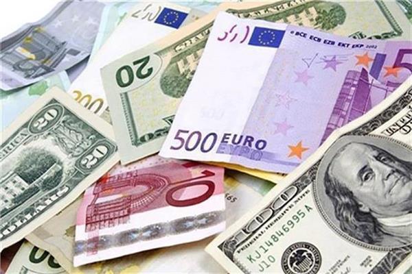 تراجع أسعار العملات الأجنبية واليورو يسجل 18.56 جنيه
