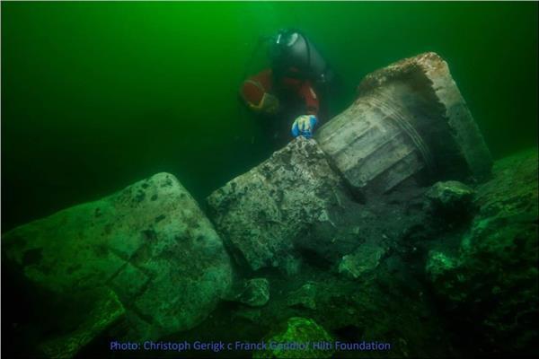 أعمال البعثة الأثرية المصرية الأوروبية في خليج أبي قير